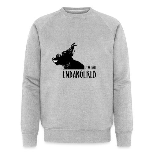 Endangered - Sudadera ecológica hombre