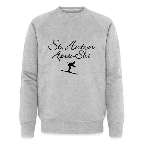 St. Anton Après-Ski Skifahrer - Männer Bio-Sweatshirt von Stanley & Stella