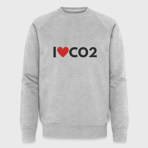 I LOVE CO2 - Stanley & Stellan miesten luomucollegepaita