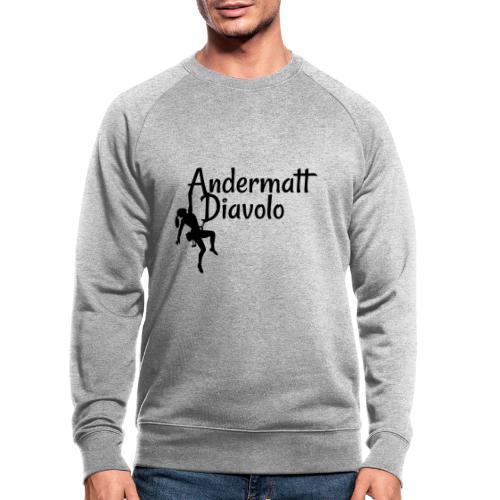 Andermatt Diavolo Uri Geschenkidee - Männer Bio-Sweatshirt