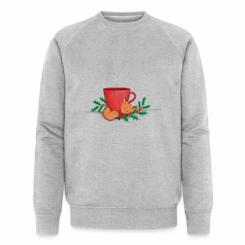Świąteczny lisek - Ekologiczna bluza męska Stanley & Stella