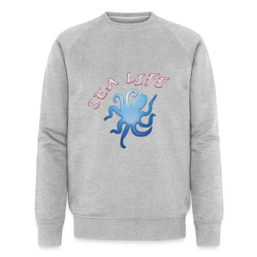 Klima Krake - Männer Bio-Sweatshirt