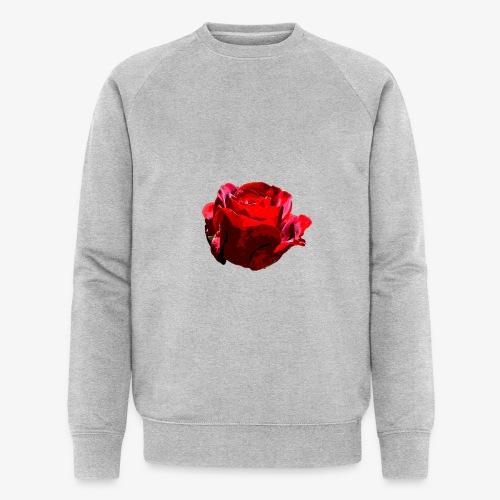 Red Rose - Männer Bio-Sweatshirt von Stanley & Stella