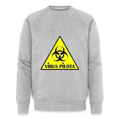 viruspelote png - Sweat-shirt bio Stanley & Stella Homme