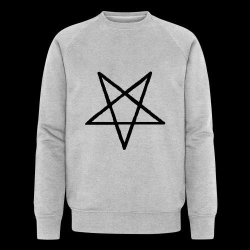 Pentagram2 png - Männer Bio-Sweatshirt von Stanley & Stella