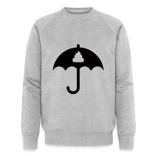 Shit icon Black png - Men's Organic Sweatshirt