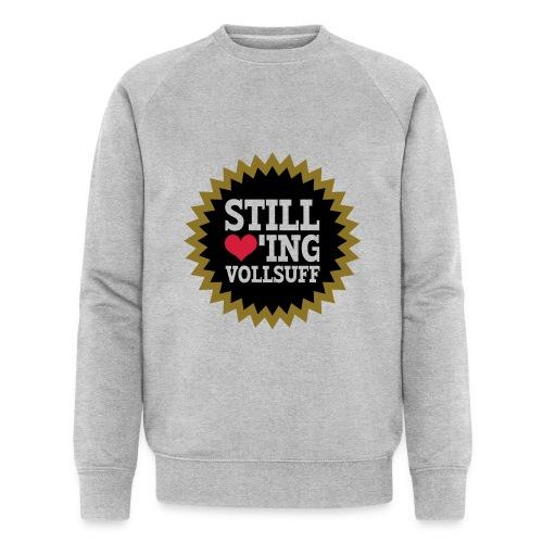 Vollsuff - Männer Bio-Sweatshirt von Stanley & Stella