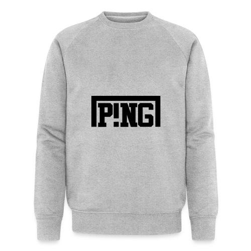ping1 - Mannen bio sweatshirt