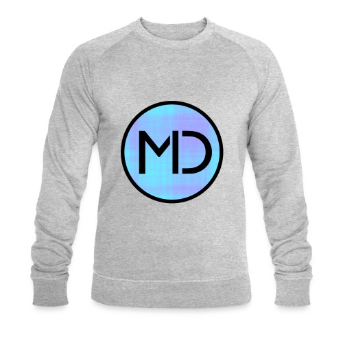 MD Blue Fibre Trans - Men's Organic Sweatshirt by Stanley & Stella