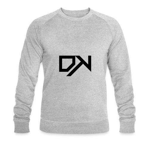 DewKee Logo T-Shirt Black - Men's Organic Sweatshirt by Stanley & Stella