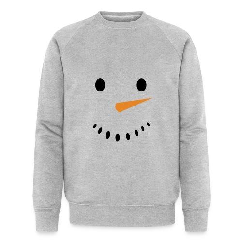 Bonhomme de neige Noël Hiver - Sweat-shirt bio