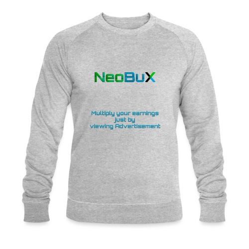 NeoBuX Blue - Men's Organic Sweatshirt by Stanley & Stella