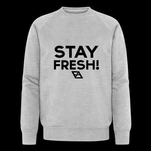 STAY FRESH! T-paita - Miesten luomucollegepaita