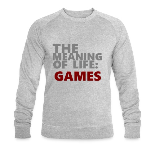 T-Shirt The Meaning of Life - Mannen bio sweatshirt van Stanley & Stella