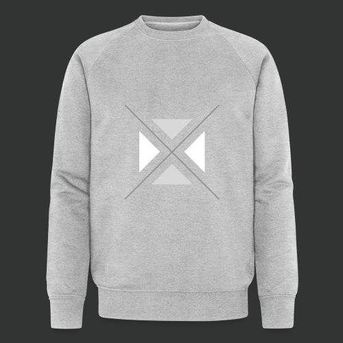 hipster triangles - Men's Organic Sweatshirt by Stanley & Stella