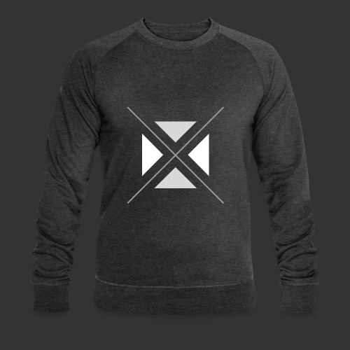 hipster triangles - Men's Organic Sweatshirt by Stanley & Stella