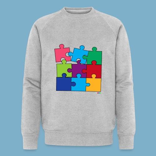 Puzzle Fun Motive - Männer Bio-Sweatshirt von Stanley & Stella