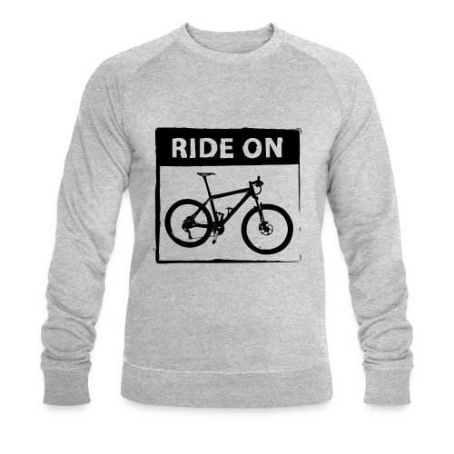 Ride On MTB 1 Color - Männer Bio-Sweatshirt von Stanley & Stella