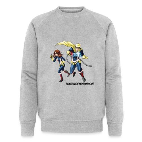 1+1=2Eine gute Connection - Männer Bio-Sweatshirt