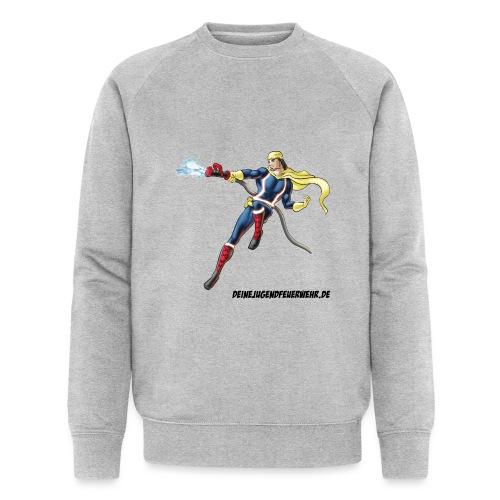 Captain Firefighter - Männer Bio-Sweatshirt
