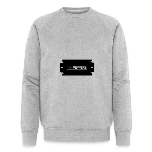 MR PEPPERS Logo classic - Männer Bio-Sweatshirt