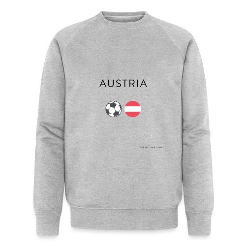 Austria Fußball - Männer Bio-Sweatshirt von Stanley & Stella