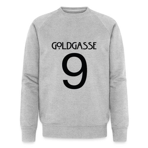 Goldgasse 9 - Back - Men's Organic Sweatshirt