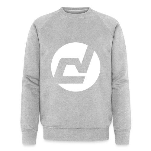 logo blanc - Sweat-shirt bio Stanley & Stella Homme