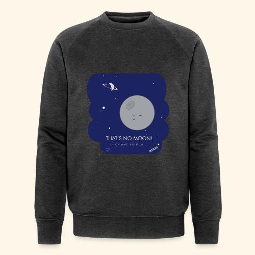 Mimas - Thats no moon - Ekologisk sweatshirt herr från Stanley & Stella