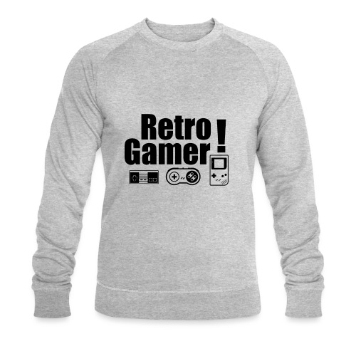 Retro Gamer! - Men's Organic Sweatshirt by Stanley & Stella