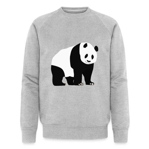 Panda - Miesten luomucollegepaita