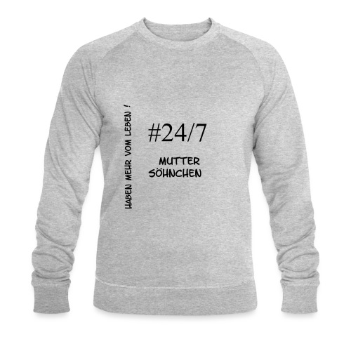 Muttersöhnchen - Männer Bio-Sweatshirt von Stanley & Stella