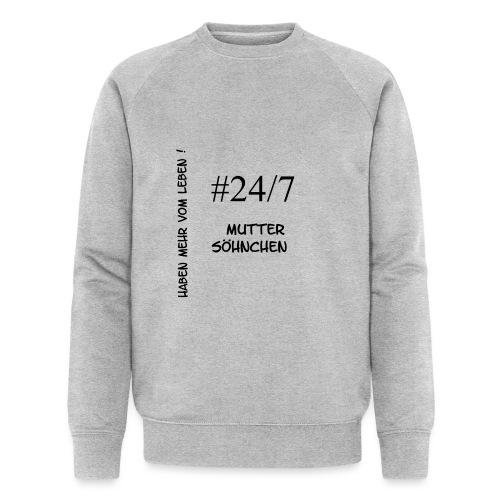Muttersöhnchen - Männer Bio-Sweatshirt