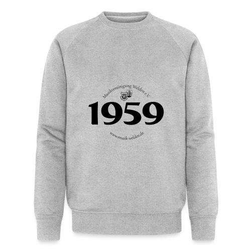 MVW 1959 sw - Männer Bio-Sweatshirt von Stanley & Stella