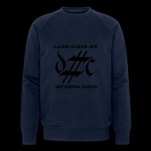 Dark-Code Black Gothic Logo - Sweat-shirt bio