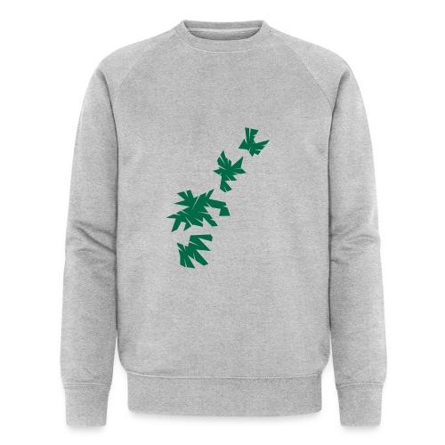Green Leaves - Männer Bio-Sweatshirt von Stanley & Stella