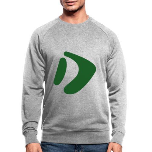 Logo D Green DomesSport - Männer Bio-Sweatshirt