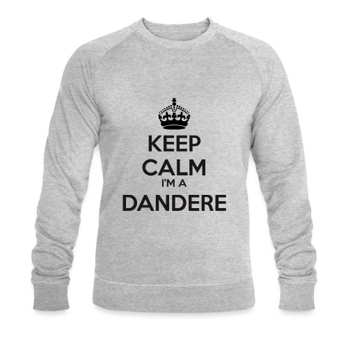 Dandere keep calm - Men's Organic Sweatshirt by Stanley & Stella