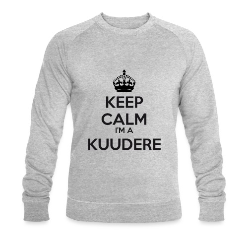 Kuudere keep calm - Men's Organic Sweatshirt by Stanley & Stella