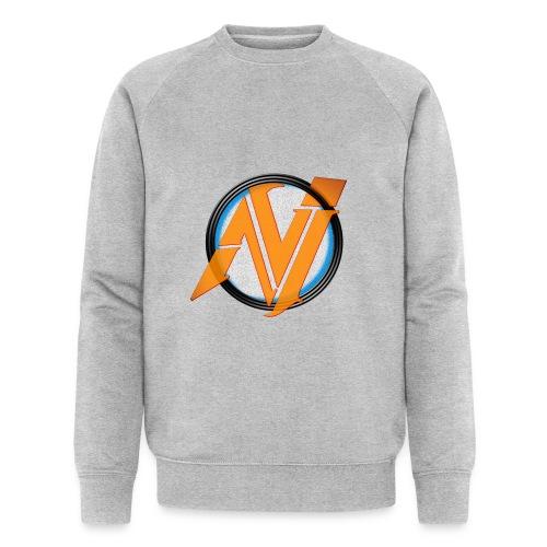 invi.rocks Logo - Männer Bio-Sweatshirt