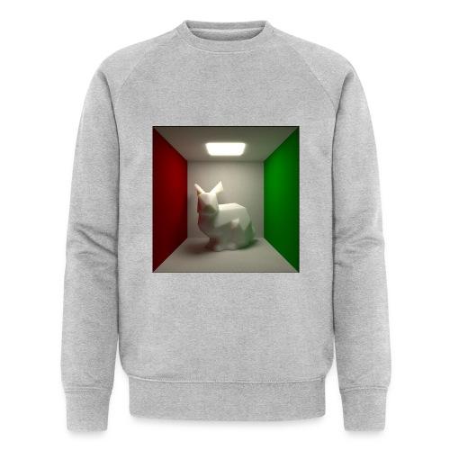Bunny in a Box - Men's Organic Sweatshirt by Stanley & Stella