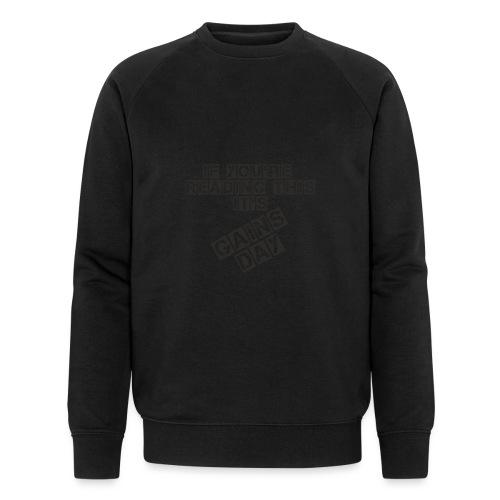 gainsday - Økologisk Stanley & Stella sweatshirt til herrer