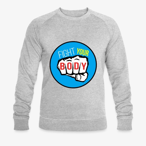 logo fyb bleu ciel - Sweat-shirt bio Stanley & Stella Homme