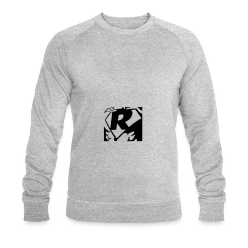 Black R2 - Men's Organic Sweatshirt by Stanley & Stella