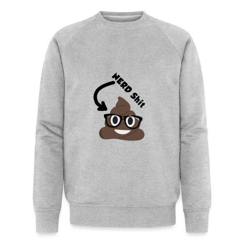 NERD Shit - Männer Bio-Sweatshirt von Stanley & Stella