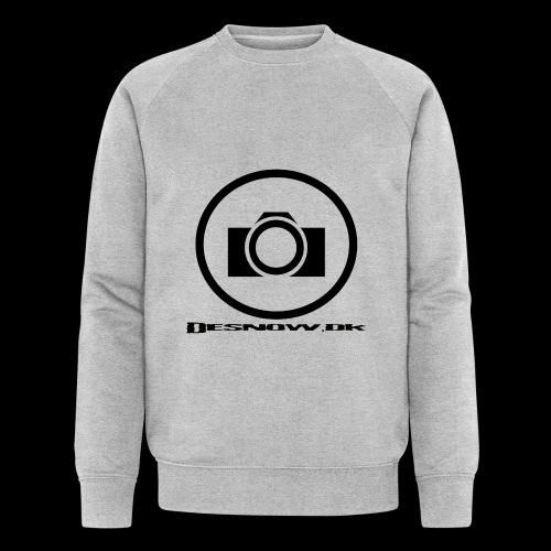 sort2 png - Økologisk sweatshirt til herrer