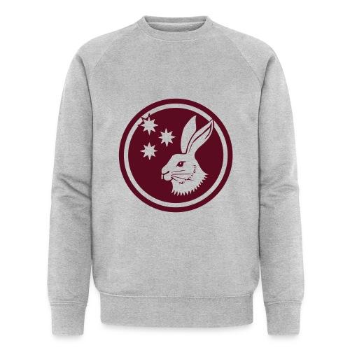 Reilinger Hase im Kreis - Männer Bio-Sweatshirt von Stanley & Stella