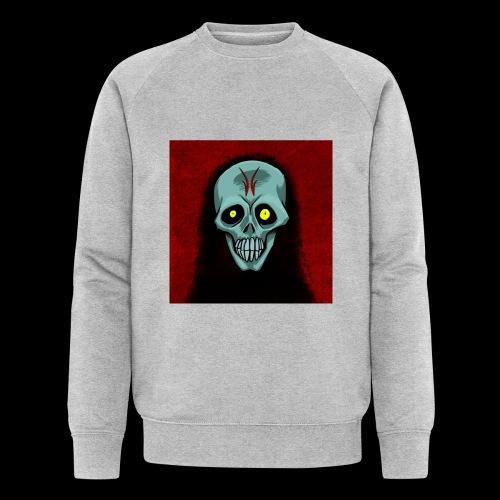 Ghost skull - Men's Organic Sweatshirt