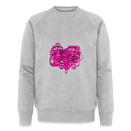 delicious pink - Men's Organic Sweatshirt