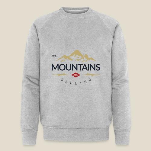 Outdoor mountain - Sweat-shirt bio Stanley & Stella Homme